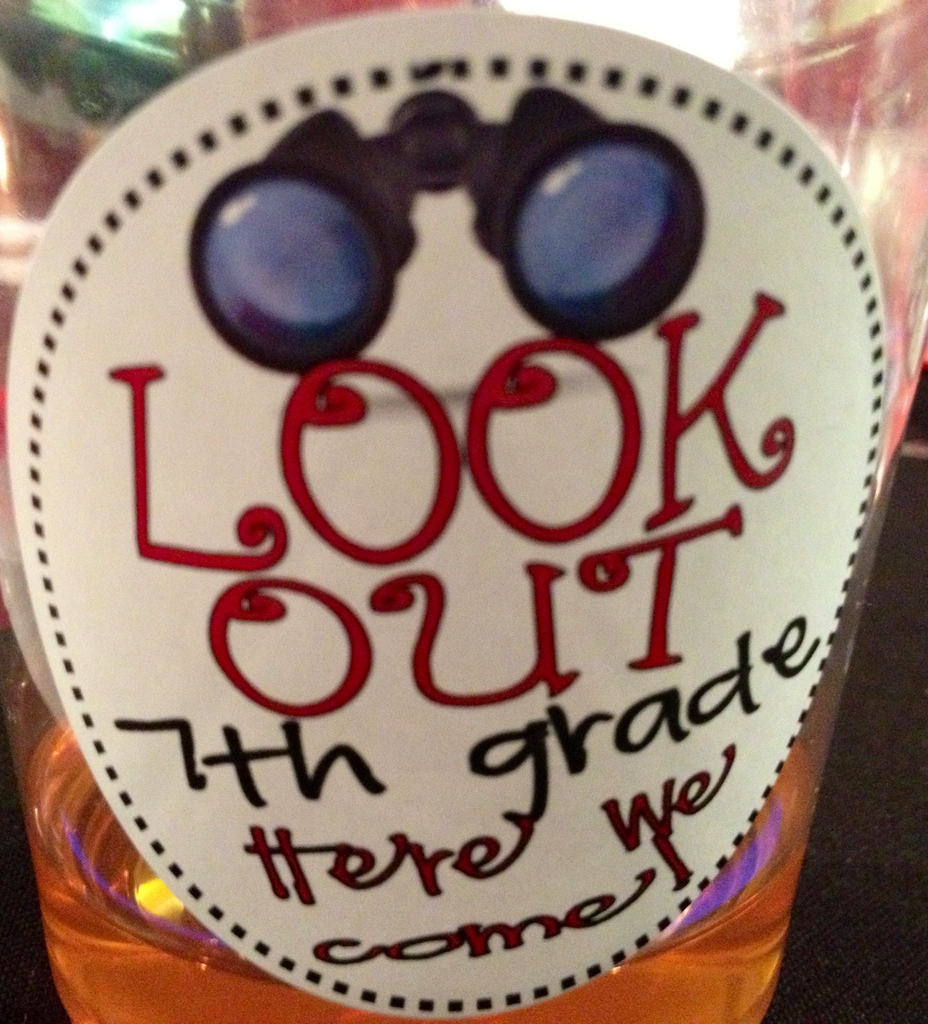 6th grade christmas party ideas - This Would Be Cute For A 6th Grade Graduation