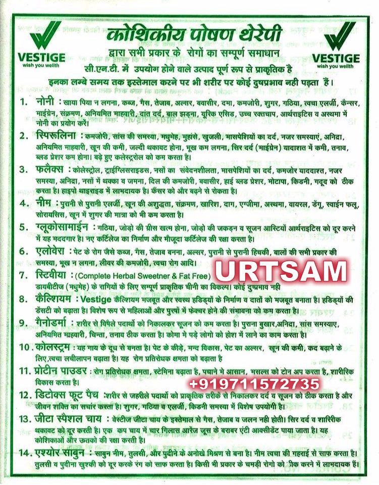 Benefits of vestige products ailment and disease related category wise sorted language hindi connect whatsapp enabled also rh pinterest