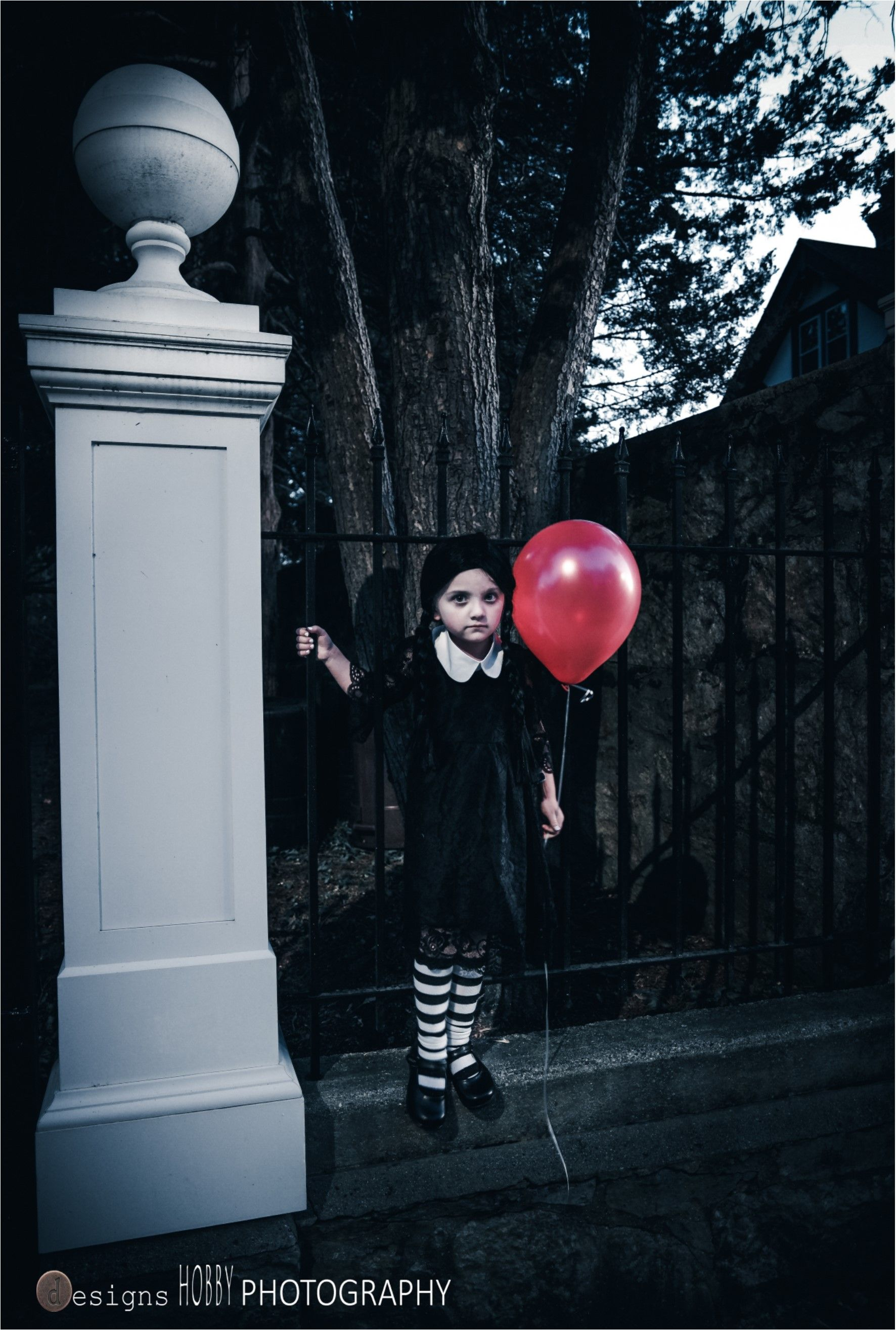 Wednesday Addams photo shoot Halloween Costume in 2020
