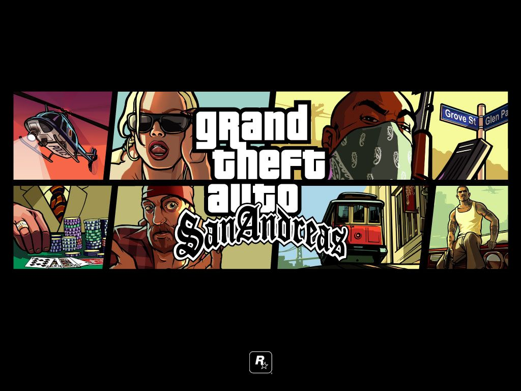G T A San Andreas | Vidéo Game | Grand theft auto, San,reas