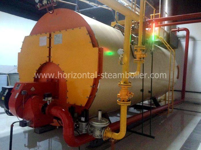 Wns Series Fire Tube Oil Steam Boiler / 3 Ton Steam Boiler