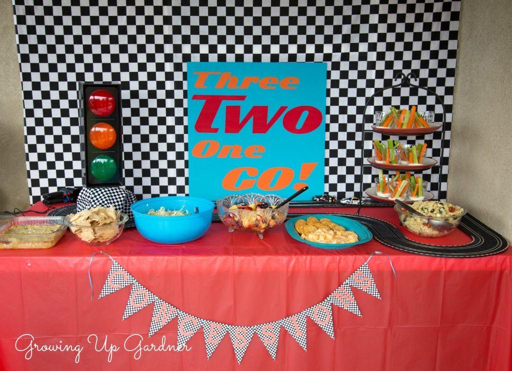 Daytona  Party Food Ideas