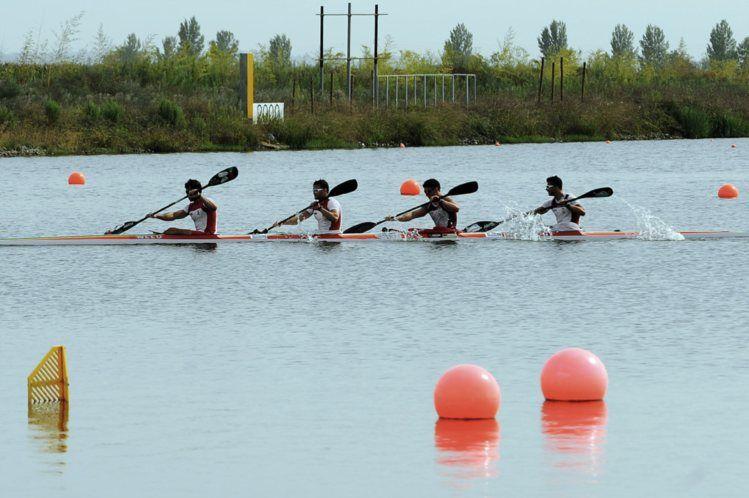 Portugal vice-campeão mundial de canoagem em K4 1000 metros