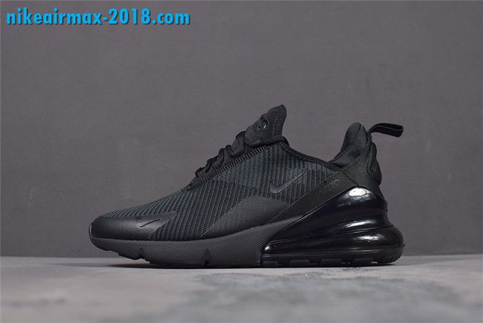 pretty nice c1982 0dd67 Nike Air Max 270 Triple Black Flyknit AH6789-006 Mens Running Shoes nice   nike  nikeairmax270  mensfashion  mensshoes  fashion  airmax  sneakers   ...