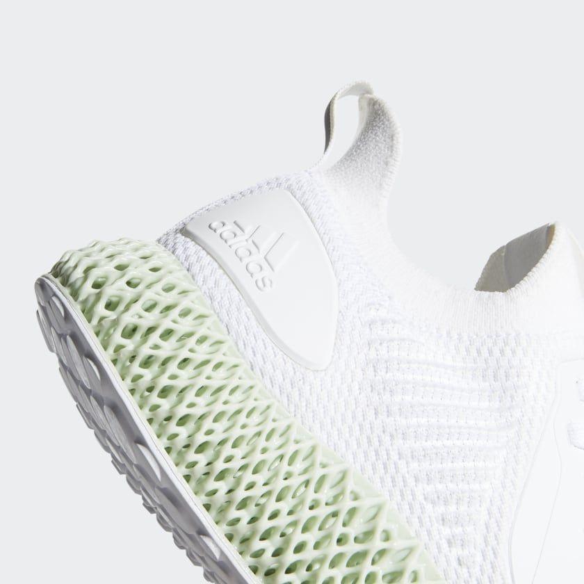 adidas Alphaedge 4D Shoes - White