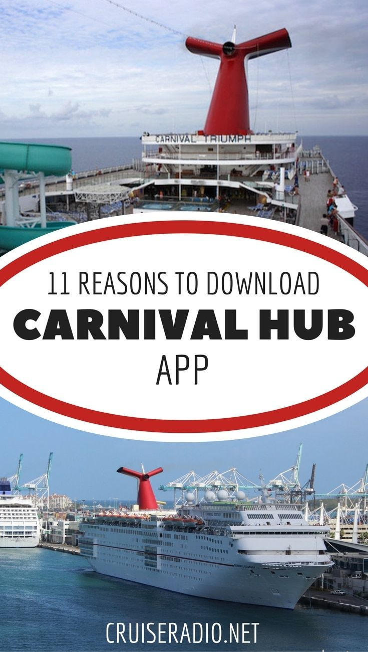12 reasons to download the carnival hub app future vacays cruise