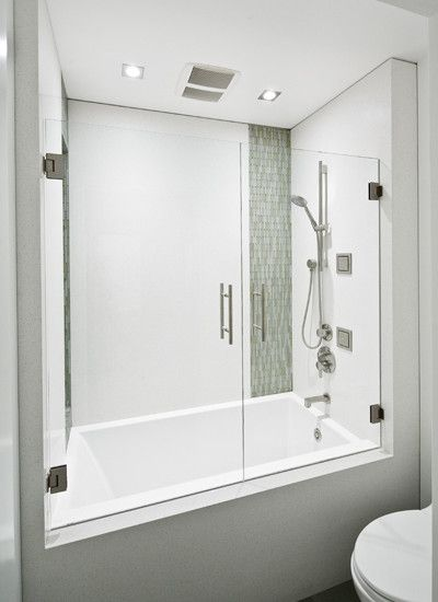Tub shower combo design pictures remodel decor and Shower tub combo with window