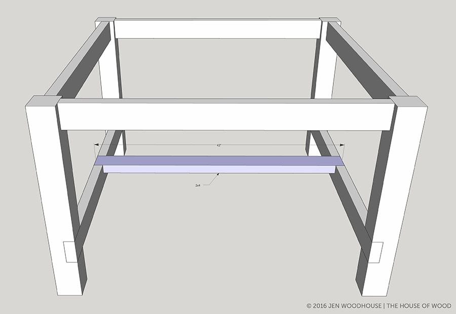 how to build a booth table