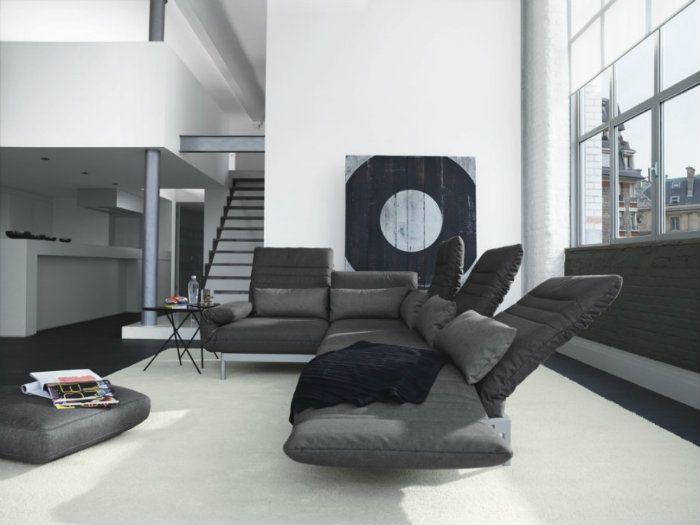 Gorgeous Grey für Wohnkultur Inspiration aus 50 Graustufen Living