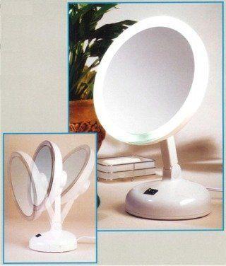 10x Daylight Cosmetic Mirror By Floxite, Floxite Daylight 1x 10x Cosmetic Mirror