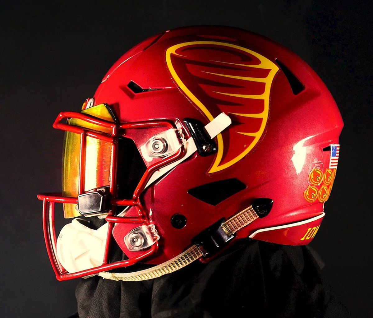 2017 Iowa State Cyclones Are Debuting A New Logo Cool Football