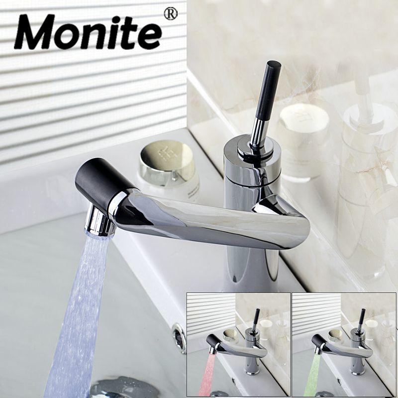 Get LED drehen wasserhahn Bad Wasserhahn Küche Schwenkbar - wasserhahn für küche