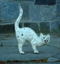 Pin By Jane Kurtz On Household Antique Cast Iron Cat Doorstop Cast Iron Doorstop