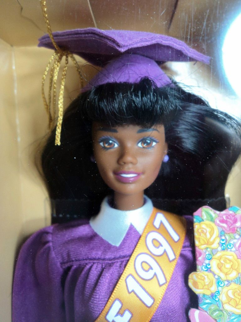 Find great deals on ebay for barbie hair extensions doll barbie light - Mattel Special Edition Aa Black African American Graduation Barbie Doll New Ebay