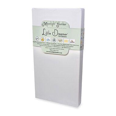 Buy Moonlight Slumber Little Dreamer Crib Mattress from Bed Bath