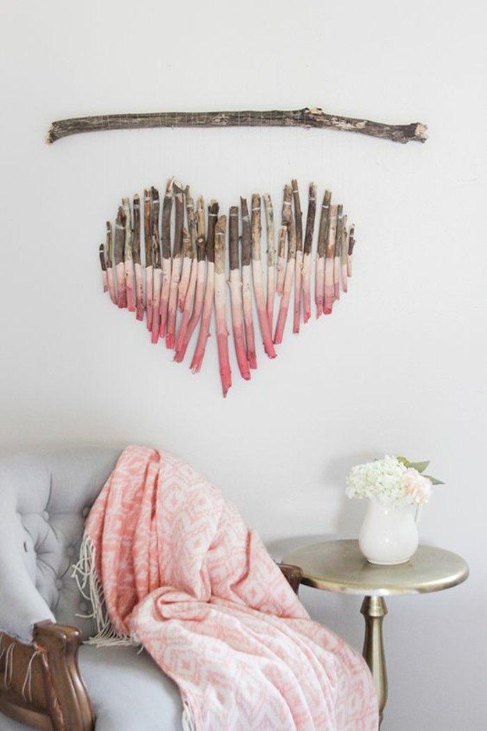 ▷ 1001 + Ideen, wie Sie eine kreative Wanddeko selber machen! #holzideen