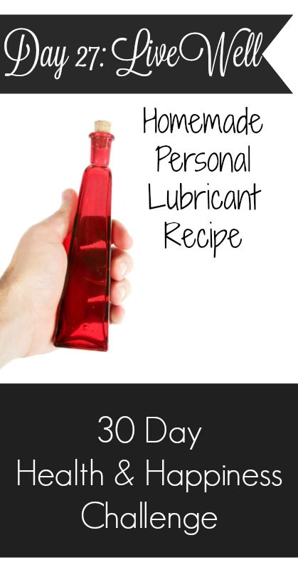 Many people are unaware of the dangers of personal lubricant. Learn the dirty truth and how easy it is to make your own natural personal lubricant without ...