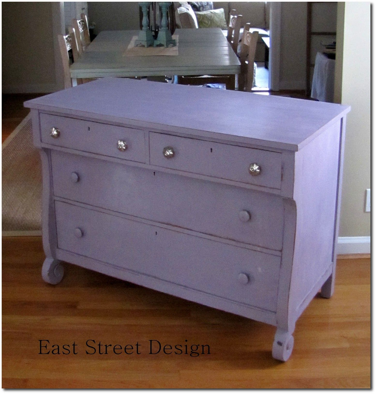 painted furniture blogsPainted dresser in Annie Sloan chalk paint Henrietta Knobs from