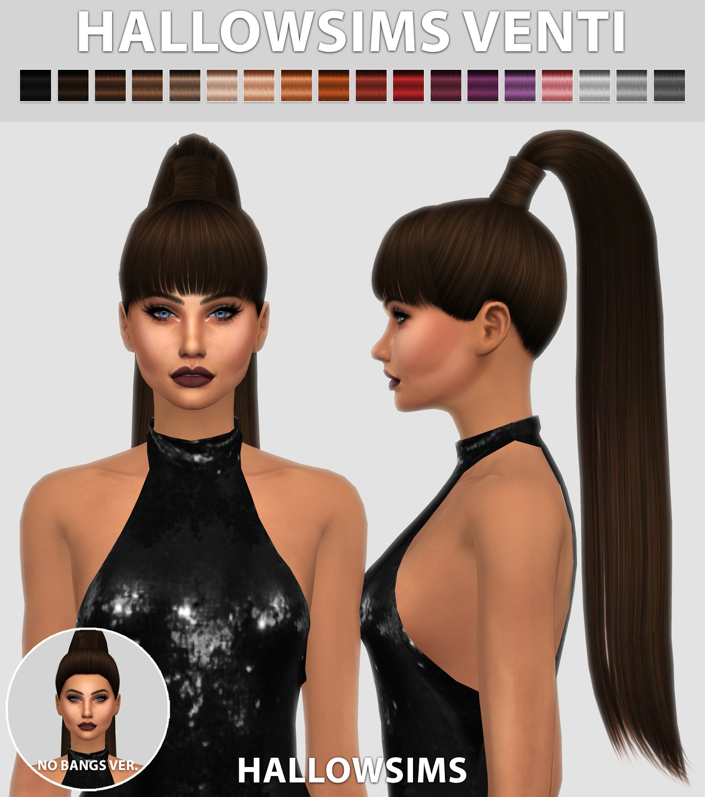 HallowSims Venti 2 Versions Hallow Sims