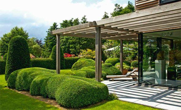 terrassen und Sitzplätze Pergola und Begrünung Garten - uberdachter grillplatz im garten