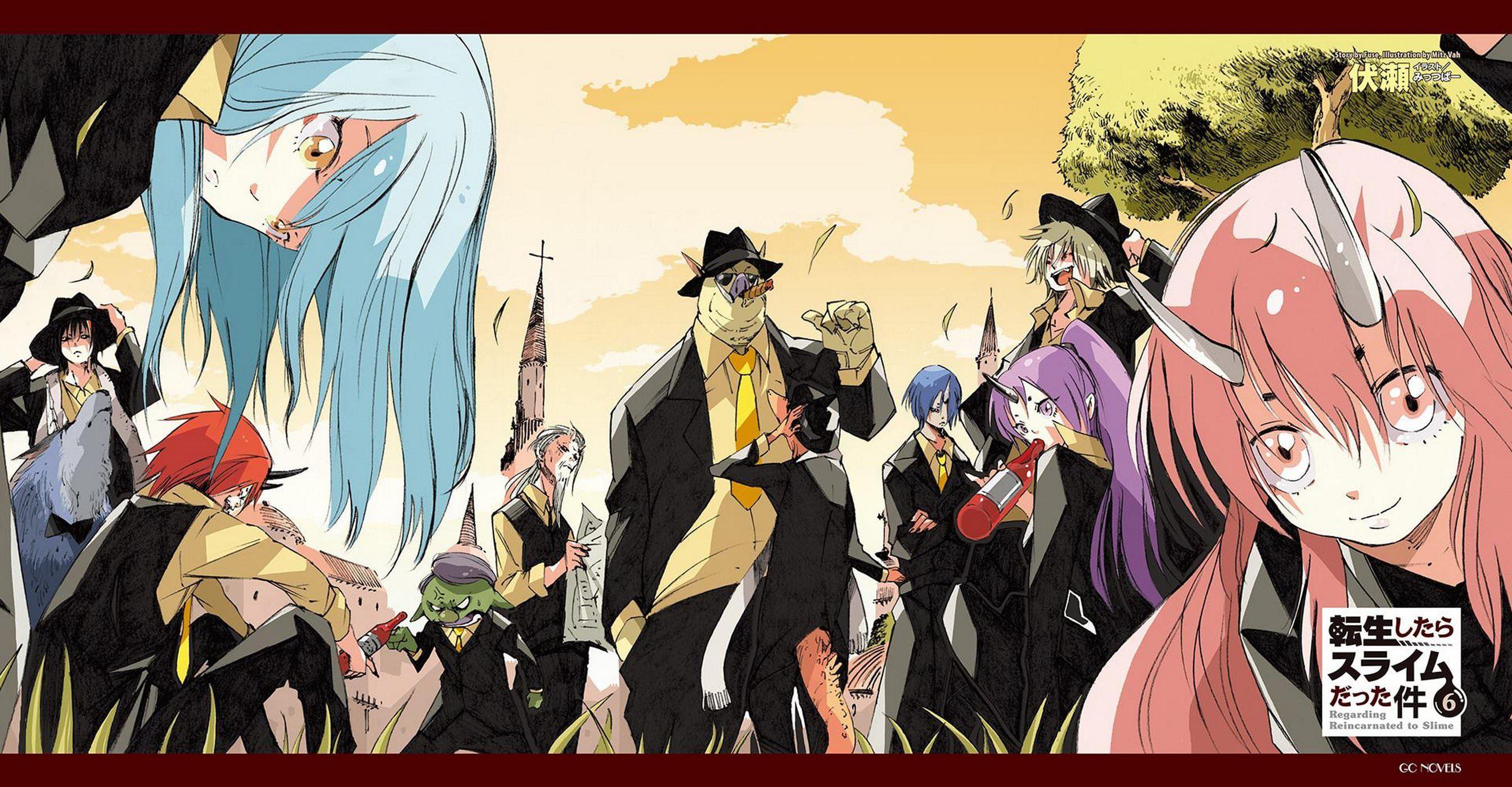 Tensei Shitara Slime Datta Ken Người minh họa, Anime và