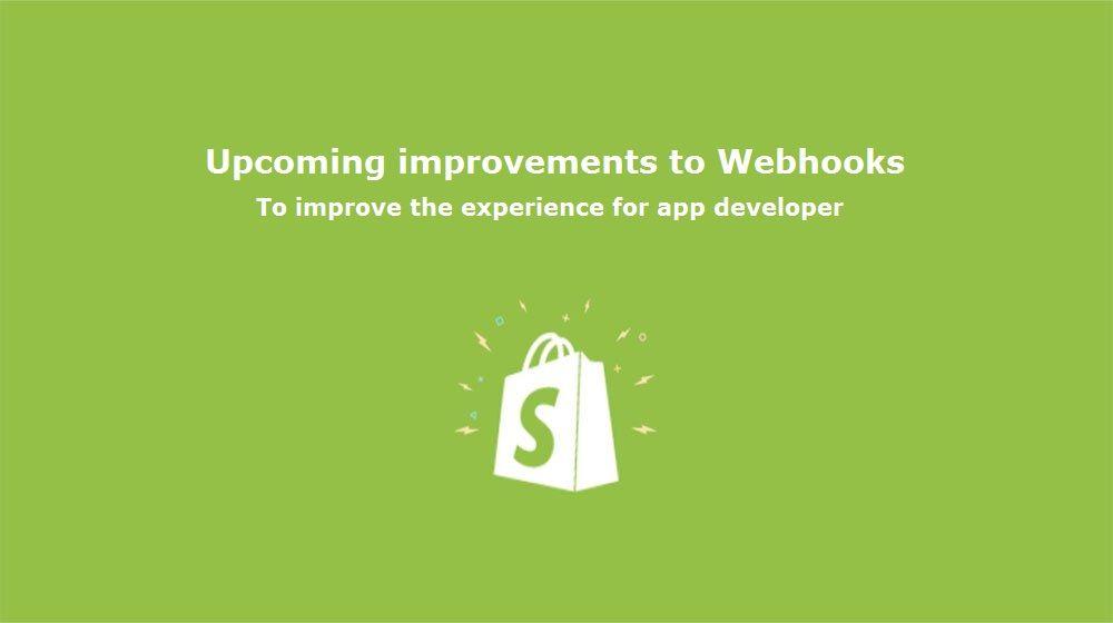 Shopify improvements in #webhooks  ✔️Flooding  A spike of