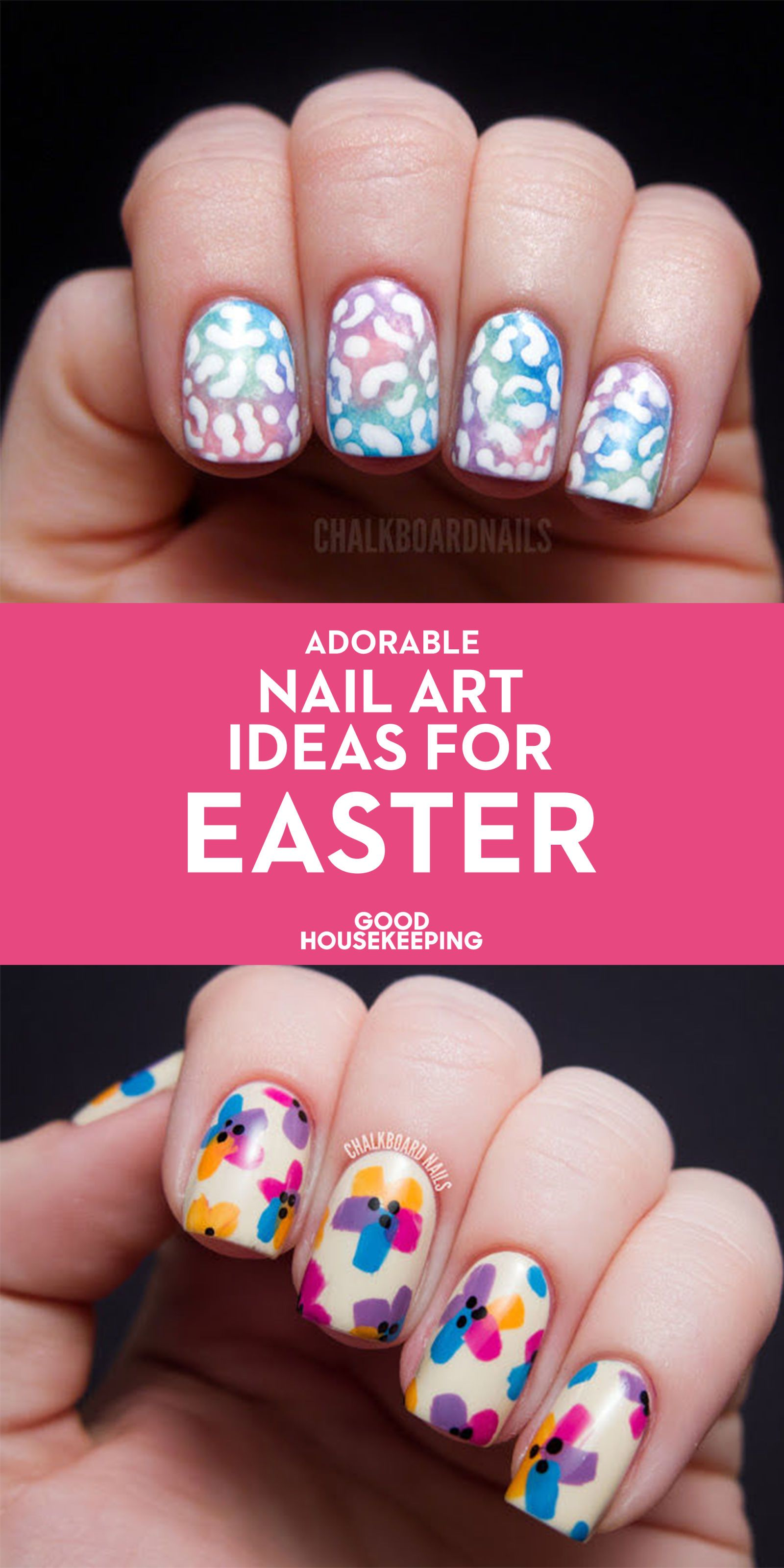 21 adorable nail art ideas for easter | nail art, spring and art