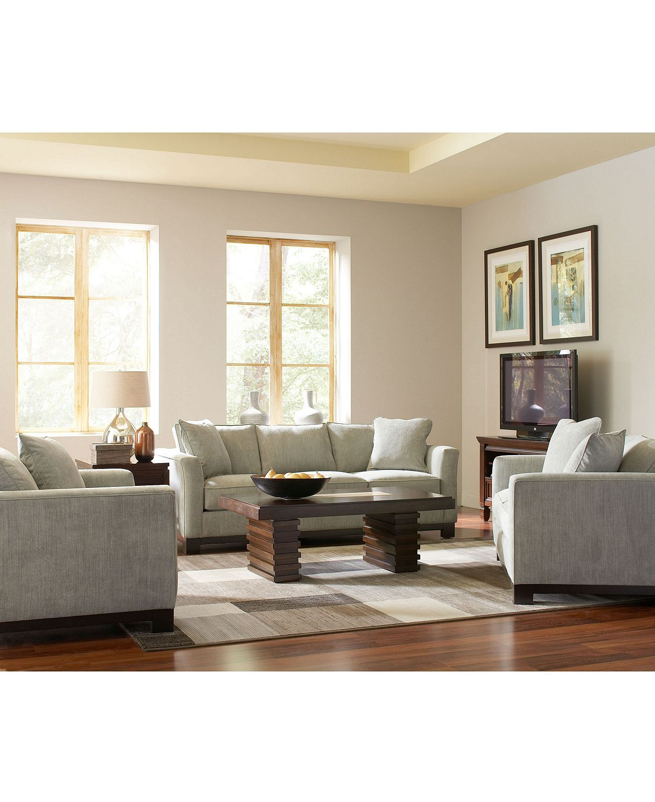 Kenton fabric sofa living room furniture collection furniture macys