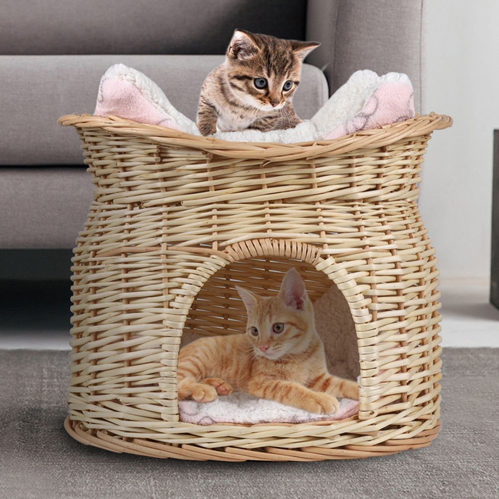 Purfect Wicker Basket Love To Sleep What Greater Gift Than The