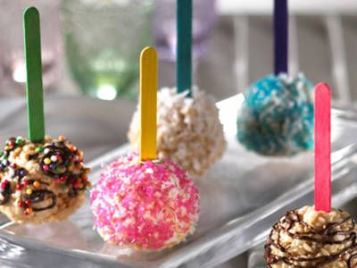 Rice Krispie Chocolate Balls Recipe | Kellogg's® Rice Krispies Treats® Fun Balls