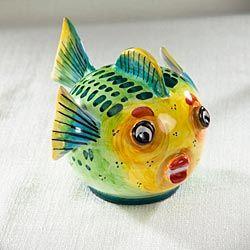 Amalfi Ceramic Fish - Medium