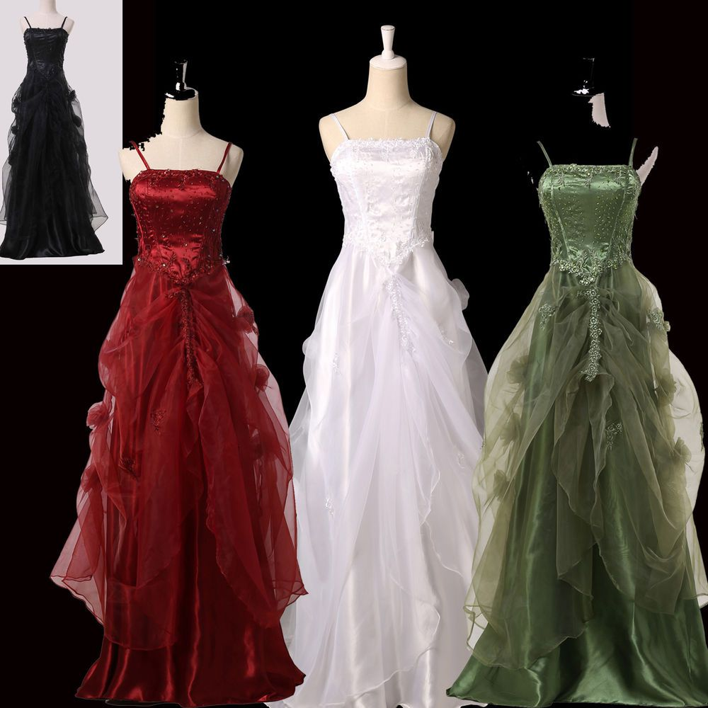 Victorian ball gown 60\'s Masquerade Party Long Evening Wedding Prom ...
