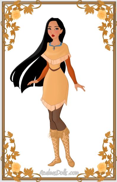 90cd17af854 Pocahontas { Winter Outfit } by kawaiibrit.deviantart.com on ...