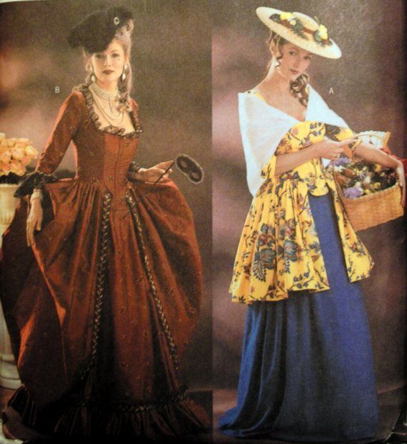 Colonial Dresses Patterns Butterick 40 Making History Colonial Magnificent Colonial Dress Patterns