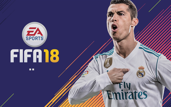 Download Wallpapers Cristiano Ronaldo K Fifa  Games Football