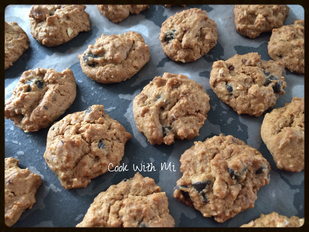 Copycat Famous Amos Crunchy Chocolate Chip With Almond Nuts Cookies Famous Amos Cookies Famous Chocolate Chip Cookie Recipe Famous Amos Cookie Recipe