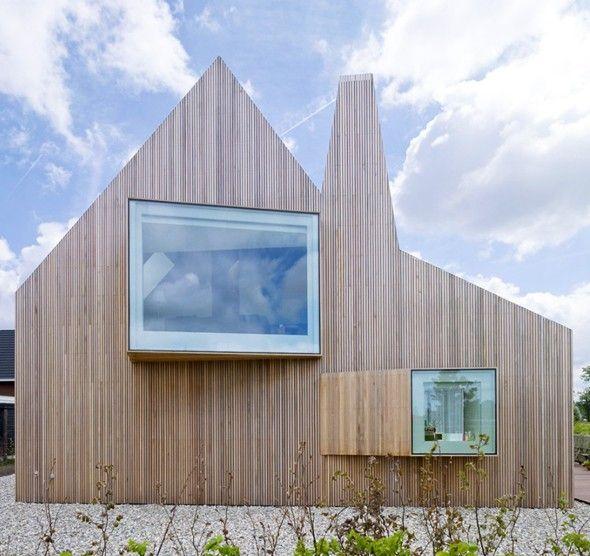 ARCHITECTURE \u003e\u003e\u003e Maison par Ana Rocha  Michel Tombal Les pays bas