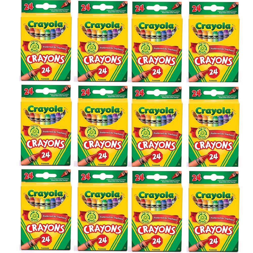 Crayola 24 Count Crayons -   Products   Pinterest   Crayons, Count ...