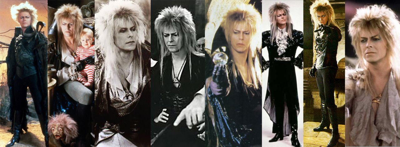 In Labyrinth Jennifer Connelly Has 3 Different Labyrinth Nook Jareth Goblin King Labyrinth Jareth