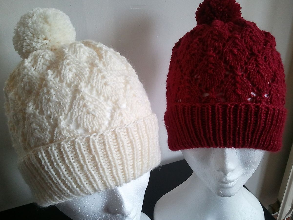 bonnet tricot aiguille 8