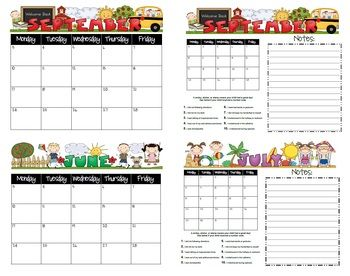 Student Behavior Calendars August   July   Behavior