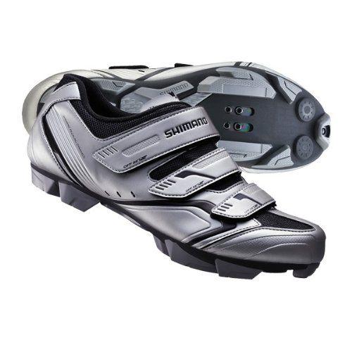 Brand New Shimano Mens Xc30 Mtb Shoe 44 Silver Cycling Shoes Mountain Bike Shoes Mtb Shoes