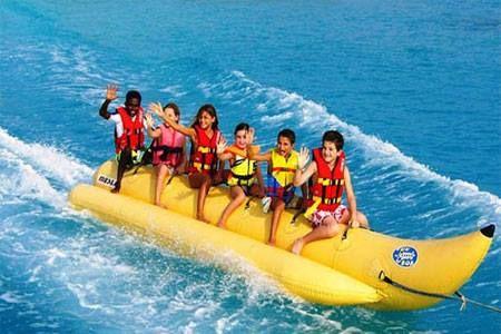 Sea Banana Coral Island Pattaya Banana Boat Southern Caribbean Cruise