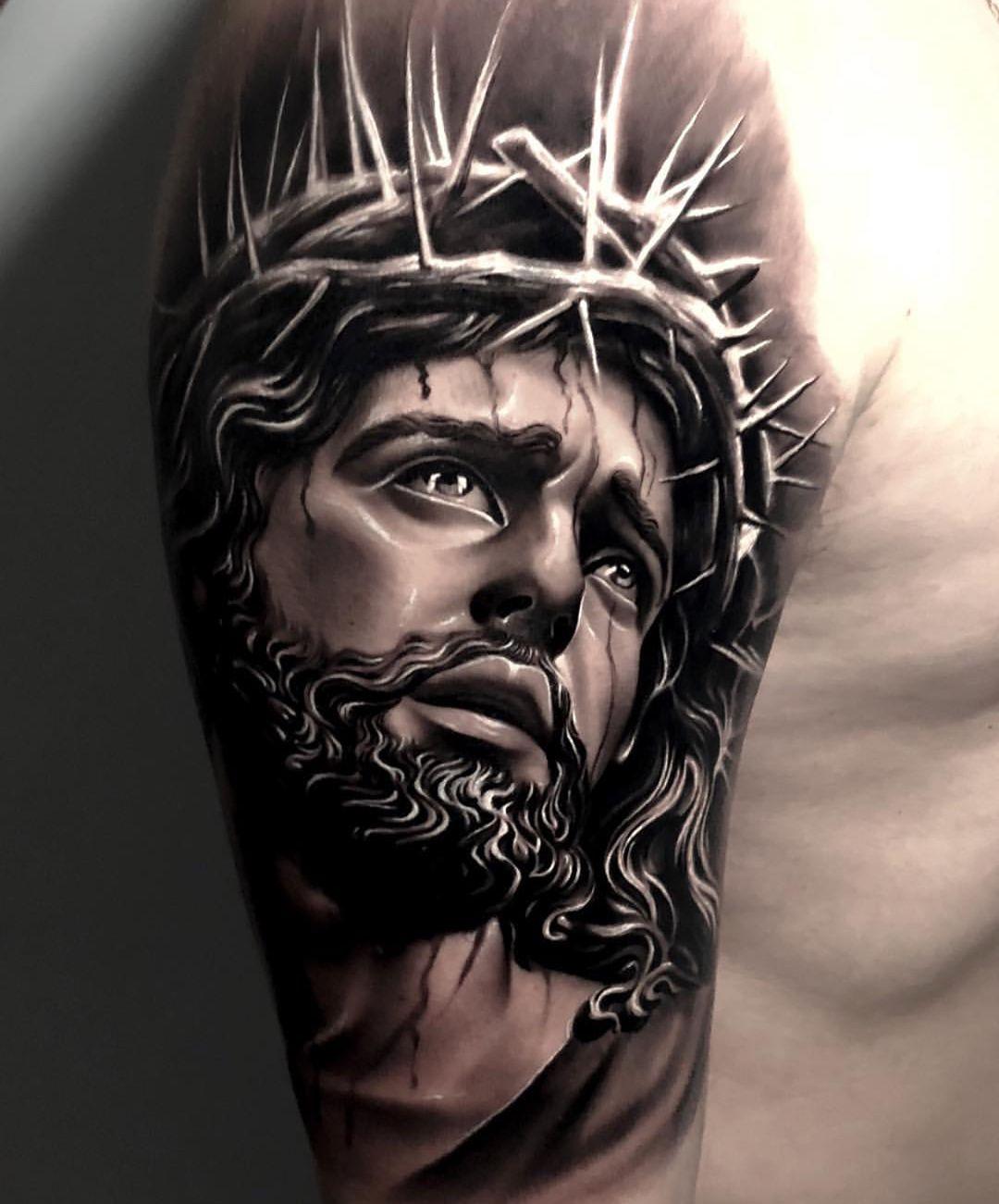 B&G Tattoo Artwork Artist I (With images) Christ tattoo