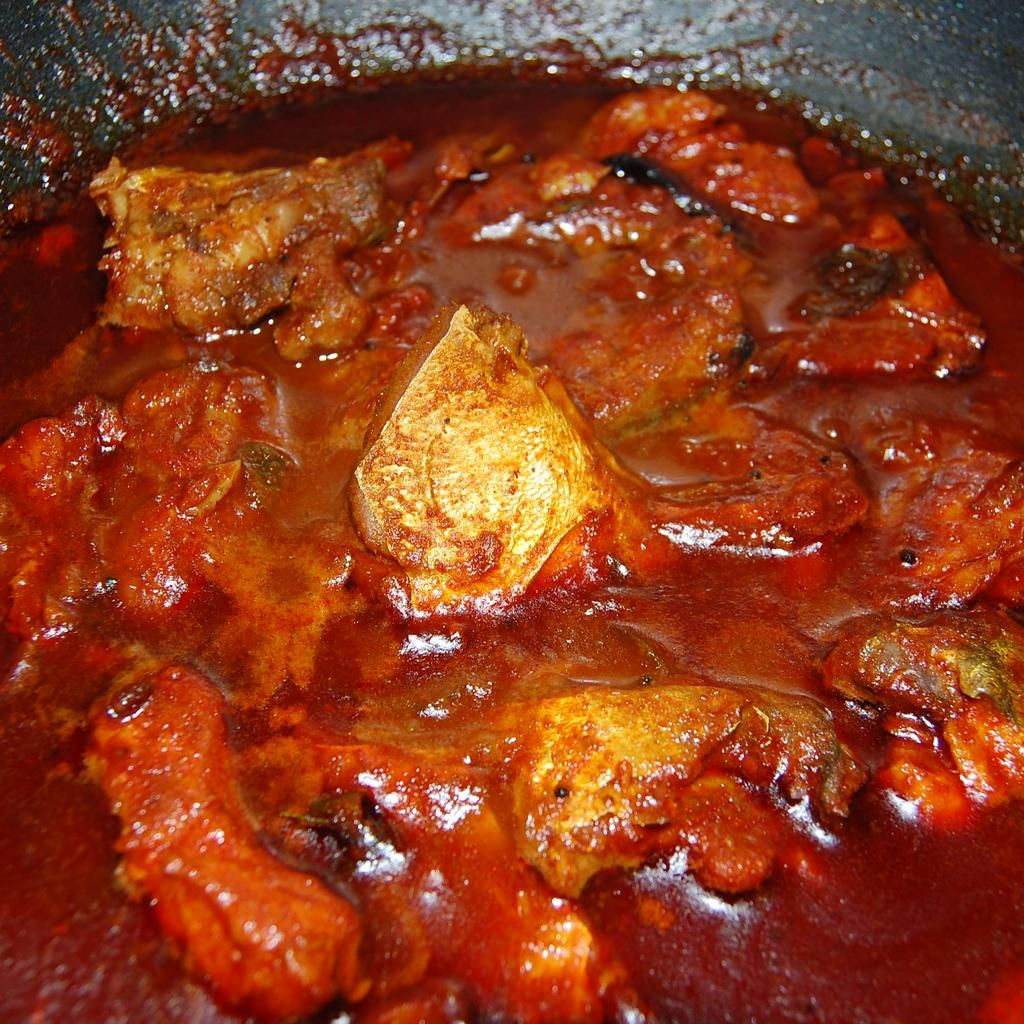 Kerala style fish curry meen curry recipe it is its for Red fish recipes