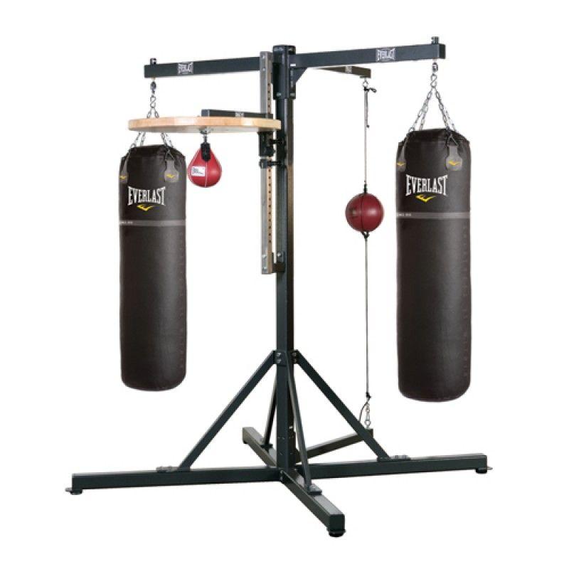 Pro station boxing gym random at home gym no equipment