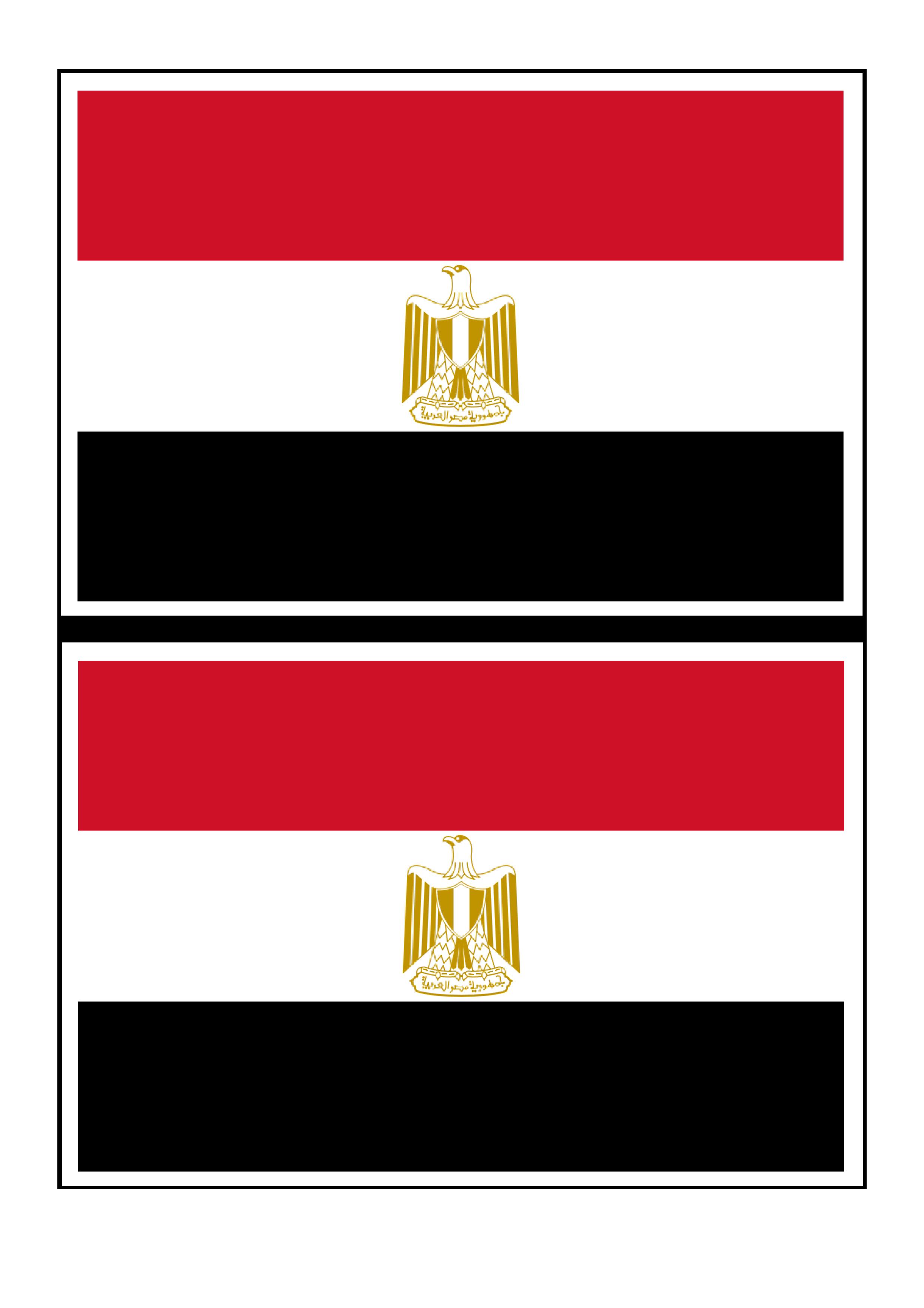 Egypt Flag Free Printable Egypt Flag Egypt Flag Flag Printable Girl Scout Crafts