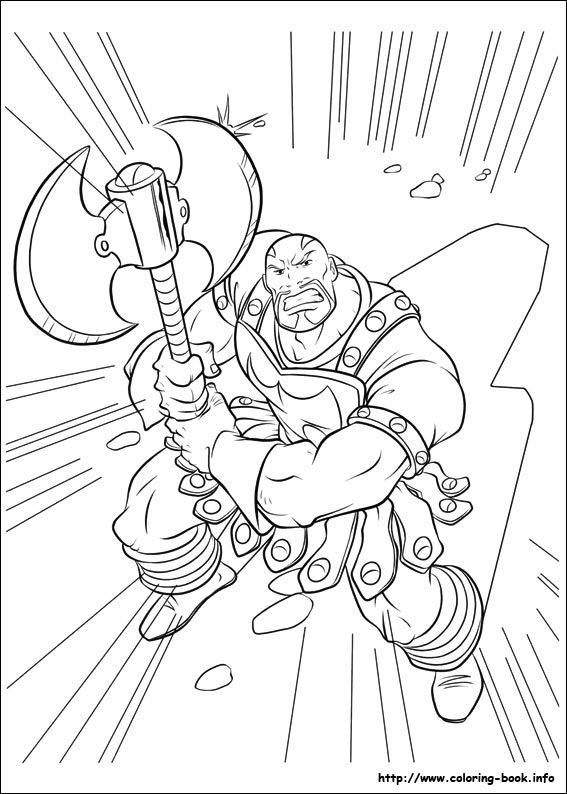 Thor coloring picture   disney   Pinterest