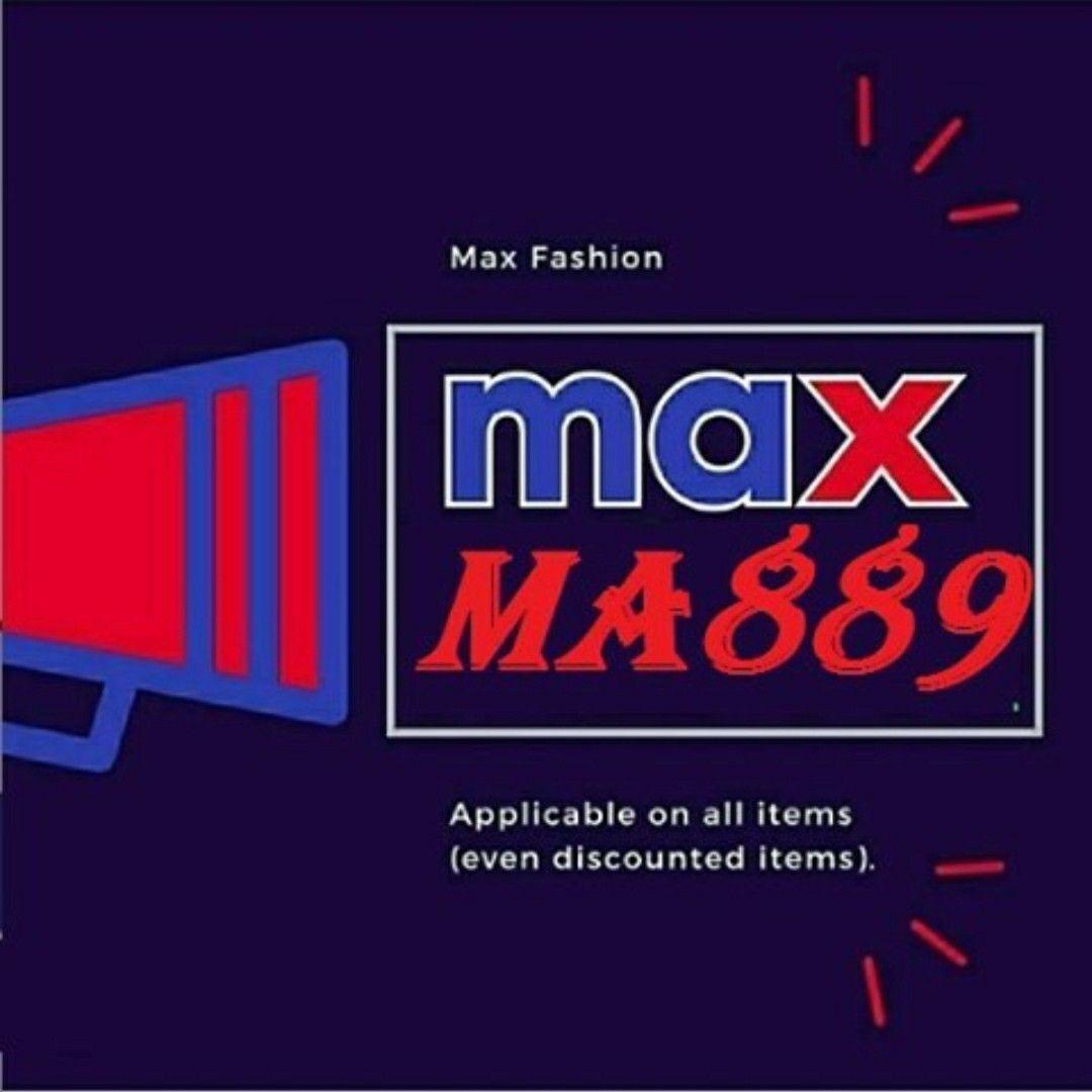 كود خصم ماكس فاشون Ma889 Maxfashon Coupons Max Fashion How To Wear Fashion