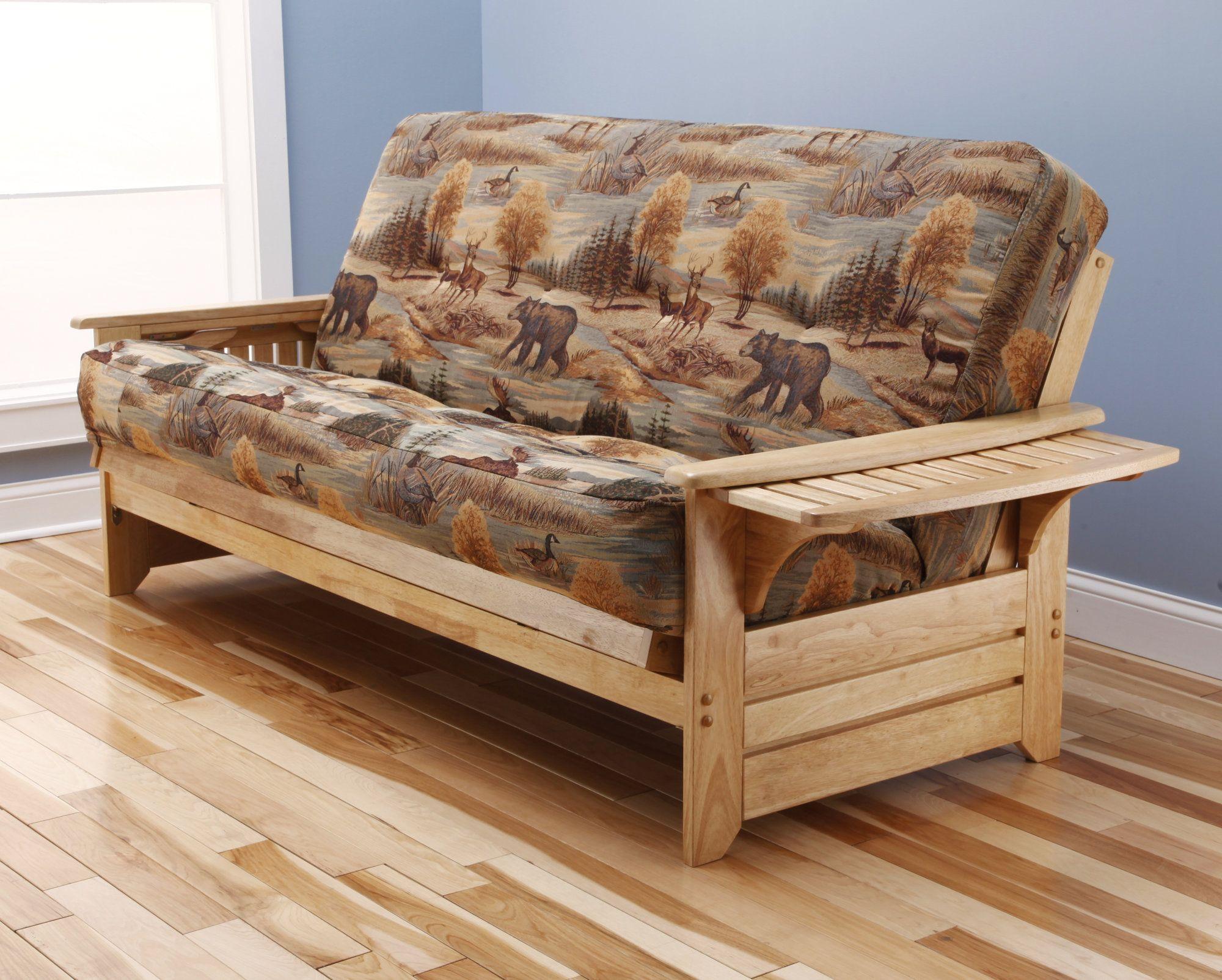 Kodiak Furniture Phoenix Canadian Storage Drawers Futon And Mattress As Shown